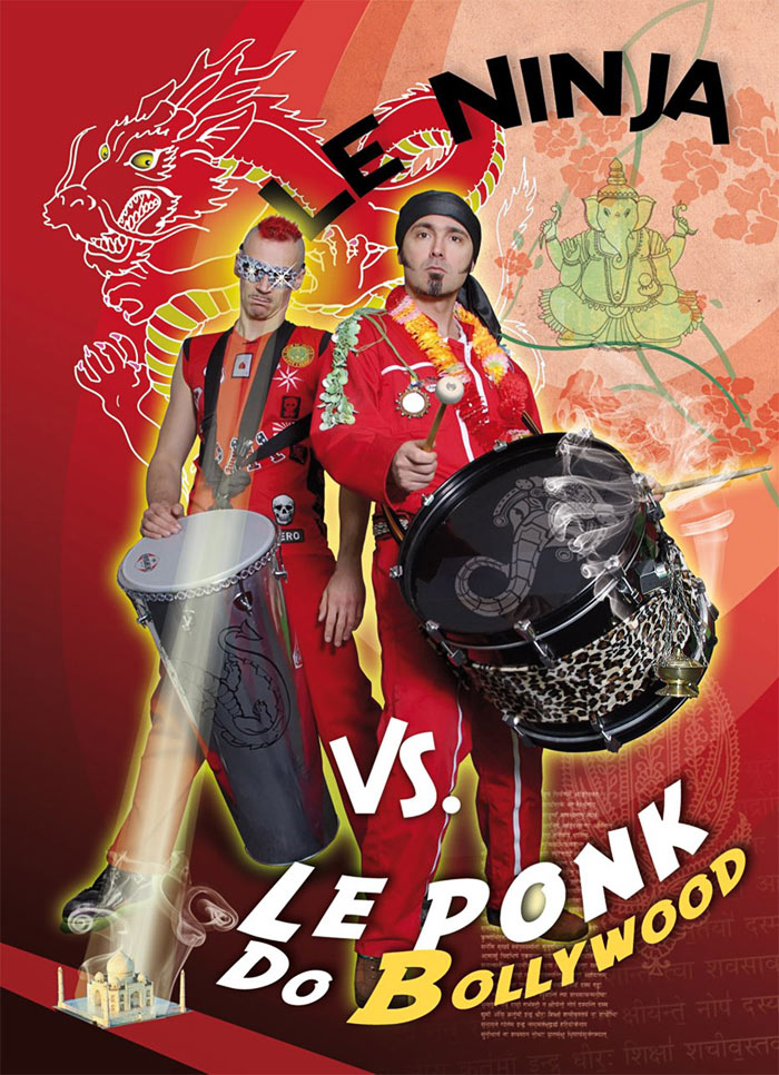 Le Ninja Vs. Le Ponk do Bollywood