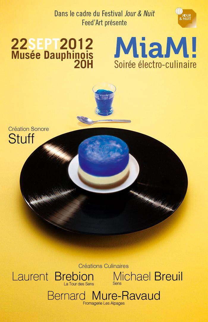 MiaM! Soirée electro-culinaire