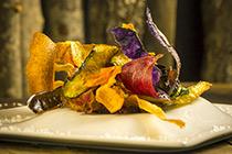 Chips de légumes - 10 recettes de chefs grenoblois